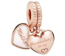 "Charm ""Mother & daughter hearts"" 2072EN23"