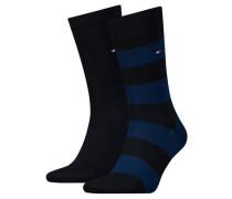 "Socken ""RUGBY "" 2er-Pack Baumwolle"
