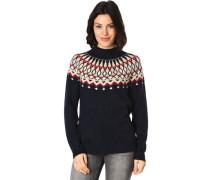 Pullover, Norweger-Stil, für Damen