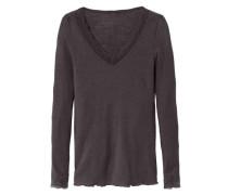 Shirt Langarm aus Wolle und Seide Silky Wool Joy