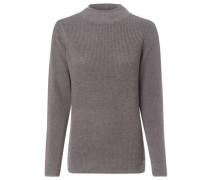 Pullover, Stehbund, für Damen, hellgrau, 40