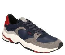 Sneaker, Veloursleder-Details, herausnehmbare Sohle