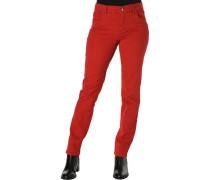 Hose, Gürtelschlaufen, figurbetont, für Damen, 44