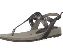 Sandaletten, weißgold
