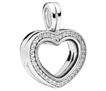 "Charm ""Heart floating"" 7248CZ"