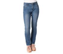 Jeans Shape Slim Fit Galonstreifen Used-Look