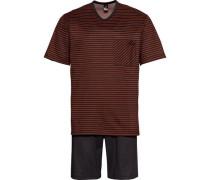 Pyjama kurz /rot M