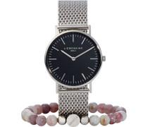 """Damenuhr """"LS-0043-MQB"""", mit Armband"""