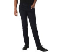 "Jeans ""Luxury T400"" Regular Slim Fit Label-Patch"