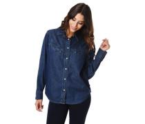 """Jeansbluse """"Dori Western Shirt"""", Druckknopf-Leiste, Brusttaschen"""