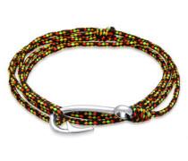 Armband Wickelarmband Hook Anker 5 Sterling Silber