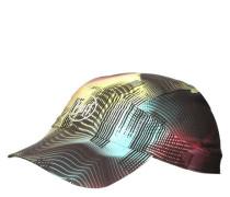 Cap Stretch farbverlaufende Streifen Quicklace UV-Schutz +
