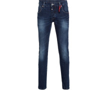 Jeans Slim Eduardo, dark wash