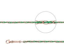Armband Oval Rotvergoldet  cm JJRUC065.2-30