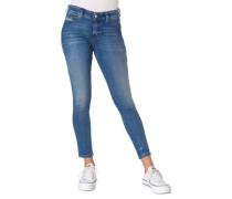 "Jeans ""Slandy"" Slim Fit Farbverlauf"