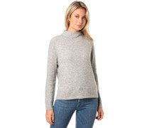 Pullover, gerade Passform, Turtleneck,