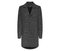 Mantel meliert /grau XS