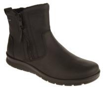 """Boots """"Babett"""" Leder Fleece-Futter Reißverschlüsse"""