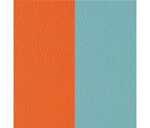 "Lederband ""Orange/Grün"" mm"