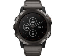 "Smartwatch fenix® 5X Plus Sapphire DLC Titanium ""010-01989-05"""