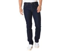 Jeans Slim Fit Stretch Kontrast-Nähte