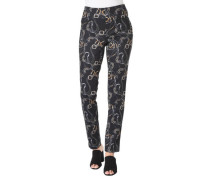 "Stoffhose ""Zene"", Regular Fit, Allover-Print"