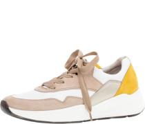 Sneaker, low, Glattleder, Schnürung,