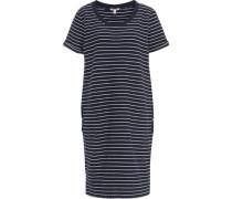Kleid, Streifen-Muster, reine Baumwolle,