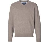 Pullover V-Ausschnitt XXL