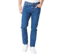"""Jeans, """"Levis 502 Taper"""", weiter Schnitt, uni, für Herren, , W36/L32"""