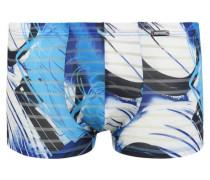 Pants Farb-Print Ausbrenner-Optik leicht transparent
