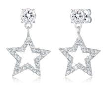 Ohrringe Sterne Sparkling Swarovski® Kristalle 5