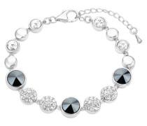 -Armband mit Swarovski® Kristallen rhodiniert