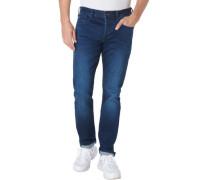 Jeans, 1/1 Länge, 5-Pocket, Waschung, für Herren, W33/L30