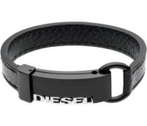 """Armband """"DX0002040"""" Leder/Edelstahl 185 cm"""