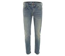 """Jeans """"Ralston"""" Regular Slim Fit Waschung Knopfleiste"""