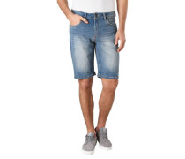 Jeans Shorts Regular Fit Used-Waschung
