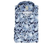 Businesshemd, Custom Fit, Jacquard-Muster, Paisley