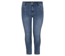"Jeans ""Louise"" Slim Fit Strass-Details 7/8-Länge Große Größen"