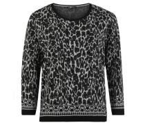 Pullover, Feinstrickeo-Print,