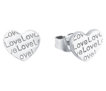 "Ohrstecker ""Love"" 5 Sterling 8"
