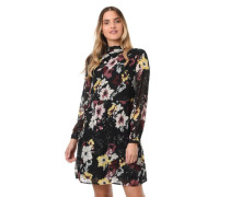 Kleid Chiffon florales Muster