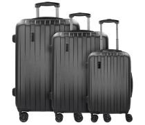Lima 2.0 FL 4-Rollen Kofferset 3tlg mit Doppelrollen
