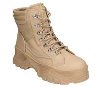 "XL-Sneaker ""FENDO"" Lederimitat Plateau-Sohle"