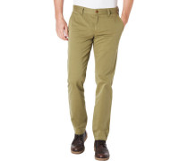 Chinos, regular Slim fit, uni, für Herren, 654 , W34/L32