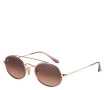 """Sonnenbrille """"RB3847N 9125A5"""", Filterkategorie 3, Doppelsteg, oval"""