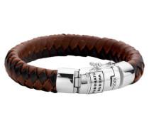 """Armband """"Ben"""" geflochtenes Leder multicolor"""