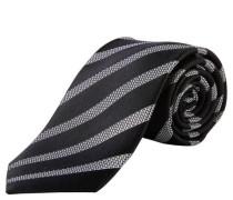 Krawatte gestreift reine Seide