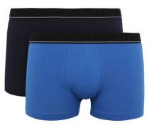Pants 2er-Pack Label-Bund Jersey unifarben