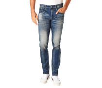 """Jeans """"Anbass"""", Used Look, Stretch"""